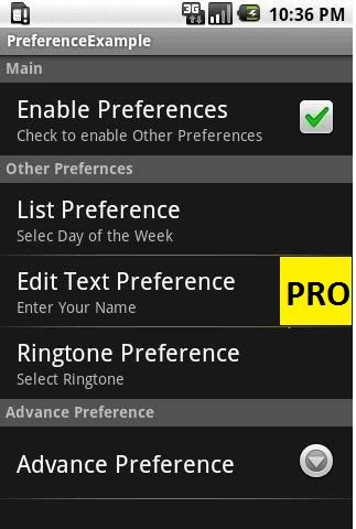 custom layout in preference android android preference set custom background stack overflow