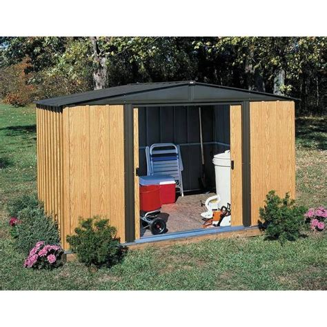 arrow woodlake    foot storage shed  shipping