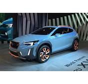 Subaru XV Concept Revealed At 2016 Geneva Motor Show By