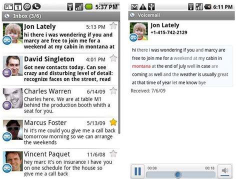 Never Listen To Another Voicemail Again With Spin My Vmail by 5 Free Android Apps That Will Make You Drop Your Iphone