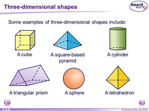 How To Make A 3 Dimensional Cube Out Of Paper - ks3 mathematics s3 3 d shapes ppt