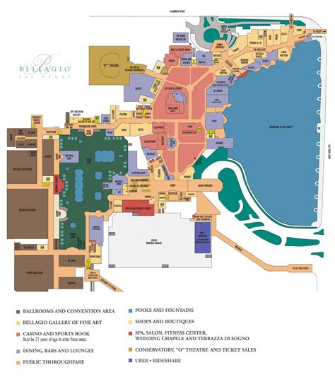 bellagio hotel room layout bellagio casino property map floor plans las vegas