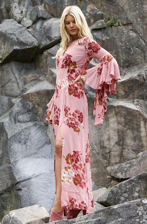 Maxi Flowbor Pink Ab by timo dress weddings dresses