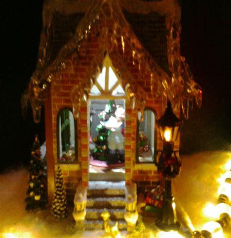 thomas kinkade lighted pictures thomas kinkade tapestry home for christmas christmas