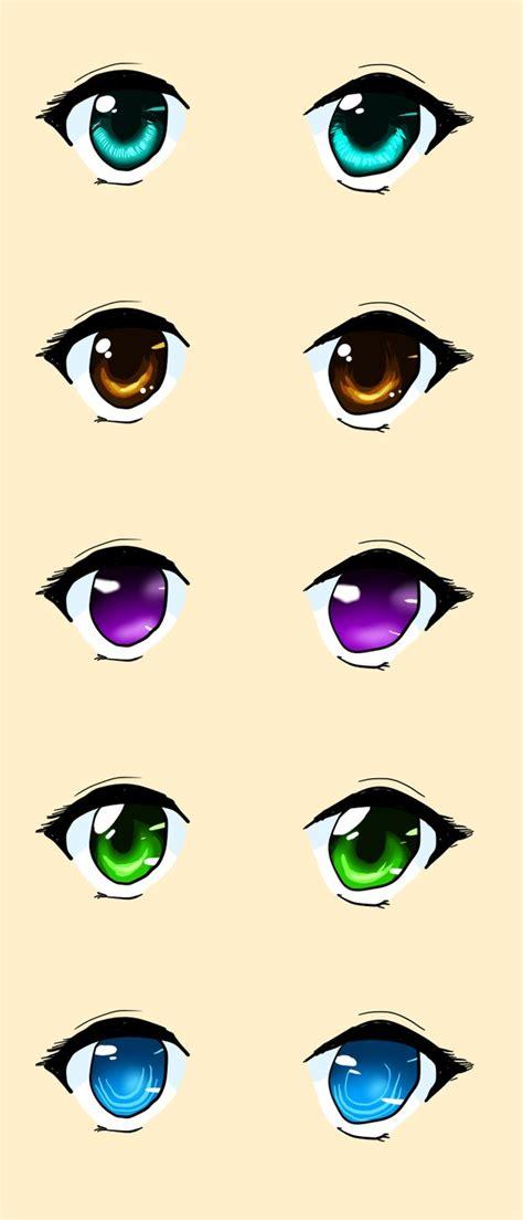 ways  color anime eyes  sisleyloveskiro  deviantart
