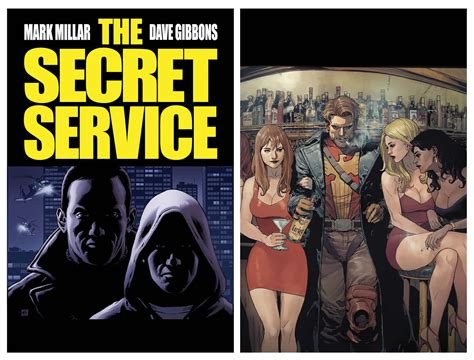 the secret service heads up marvel comics previews april 2012