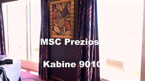 cabine msc preziosa msc preziosa cabin 9010 kabine 9010 cabin 9010 of