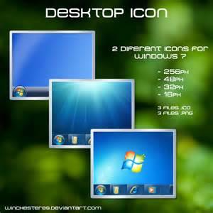 windows 7 desktop icon by winchester89 on deviantart