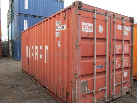 used storage container used 20ft shipping container gp for sale container