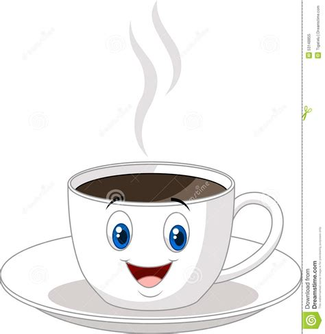 cup cartoon cartoon cup of stock vector illustration of cafe