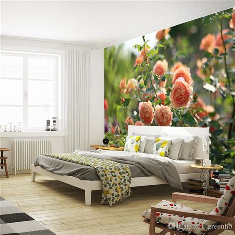Romantic Decor And More romantic china rose photo wallpaper flowers wall mural