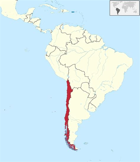 chile location on world map silii wikipediya