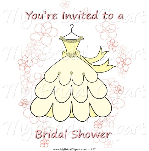 bridal clipart a you re invited a bridal shower