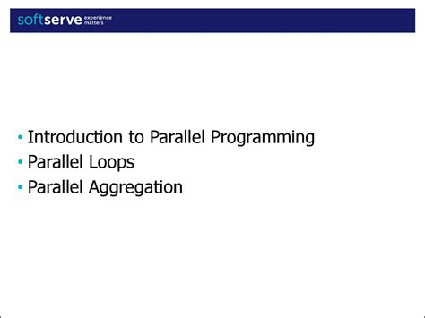 parallel patterns library gcc task parallel library data parallelism patterns