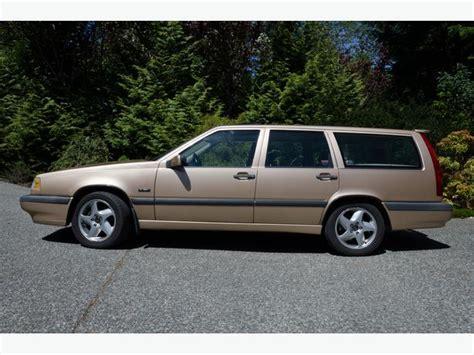volvo 850 turbo wagon 1996 volvo 850 turbo wagon outside