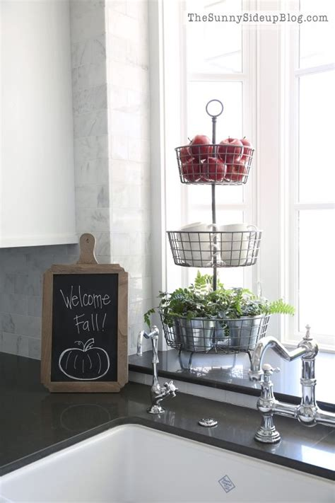 Pictures Of Kitchen Faucets Fall Into Home Tour Sinks Vignettes And Kitchens