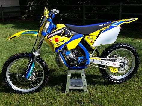 2001 suzuki rm250 restored rebuilt 2001 rm 250 moto related motocross