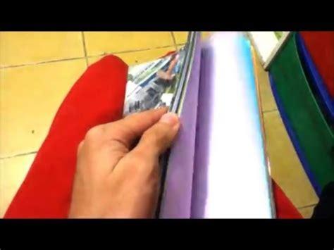 como hacer un libro artesanal tutorial facil consejosjavier youtube