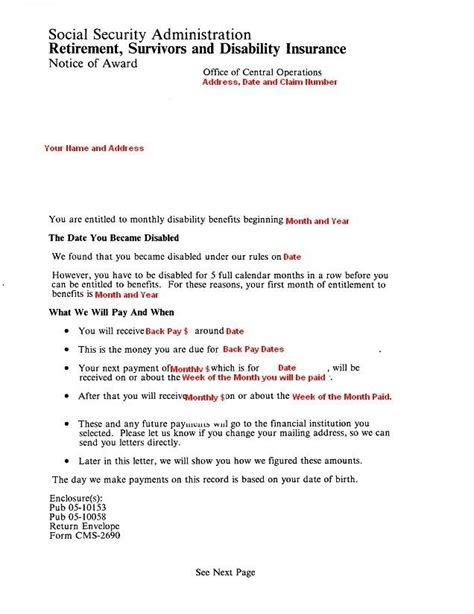 How To Get A Social Security Award Letter