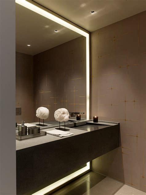 pick  modern bathroom mirror  lights