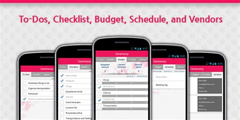 Wedding Checklist App by Wedding Planner Wedding Checklist Apps