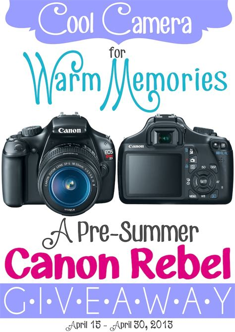 Canon Giveaway - canon rebel giveaway smart school house