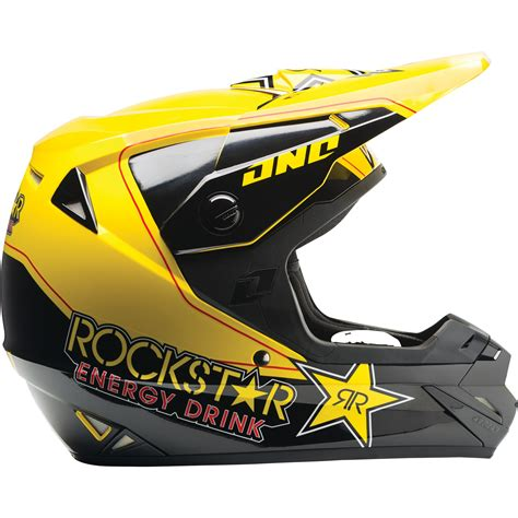 energy motocross helmets one industries 2014 atom rockstar energy yellow motocross