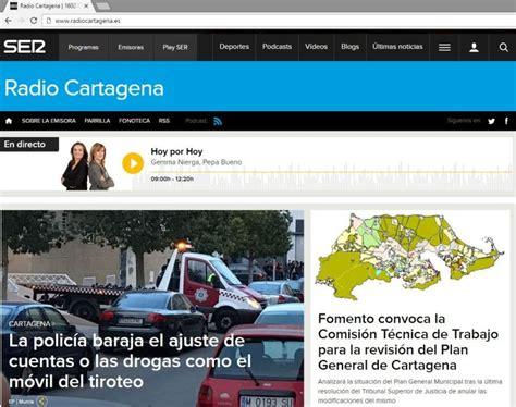 nace la p 225 gina web de radio cartagena cadena ser radio - Cadena Ser Pagina Web