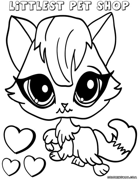 coloring pages for littlest pet shop littlest pet shop coloring pages coloring pages to