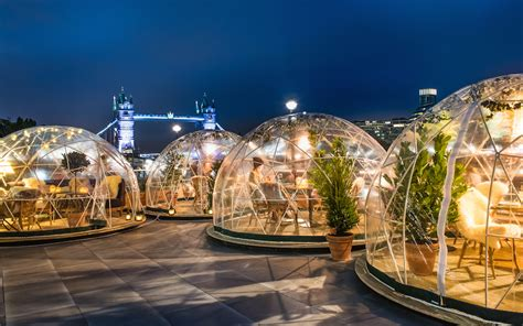 coppa club to release more dates for river thames igloos igloos at coppa club london on the inside