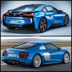 Audi Ou Bmw Would You Buy The Bmw I8 Or The Audi R8