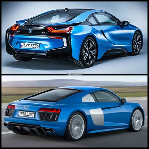 Audi I8 Price by Would You Buy The Bmw I8 Or The Audi R8