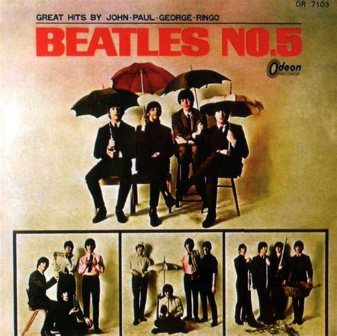 The Beatles 5 beatles no 5 album artwork japan the beatles bible