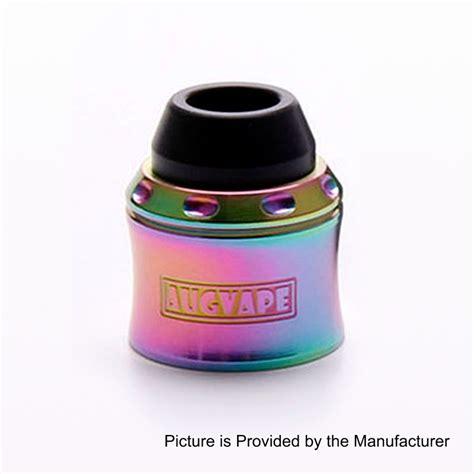 Promo Augvape Merlin Mini Rda Cap Kit Authentic authentic augvape merlin mini rainbow stainless steel rda