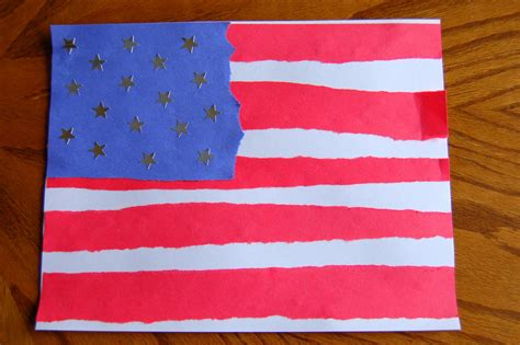 American Flag Crafts For The 4th Happy Home