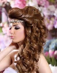hochsteckfrisurenen hochzeit arabic تسريحات شعر خليجية 2014 للاعراس بالصور