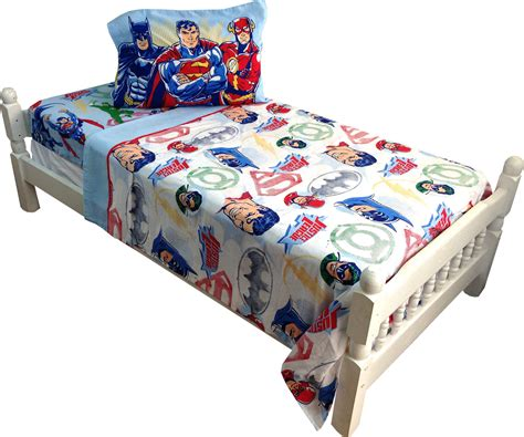 dc comforter dc comics justice league twin bed sheet set 3pc batman