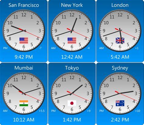amazing world clock download