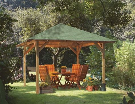Pavillon Ikea Holz by Ein Schattiges Pl 228 Tzchen Im Garten Der Pavillon