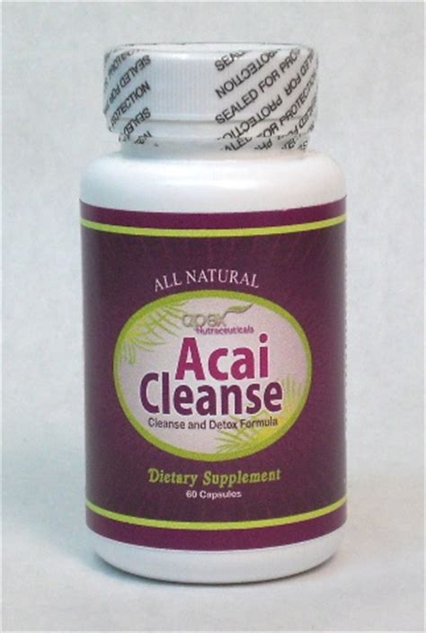 Cleanse And Detox With Acai by Acai Berry Products Individual Product Information