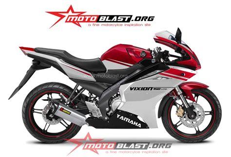 Fairing Custom R25 For Vixion Black White Energy modif inspirasi yamaha new vixion 2014 fullfairing minerva migelli knalpot custom
