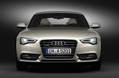 Audi A5 Front by 2012 Cuvee Silver Audi A5 Sportback Front Eurocar News