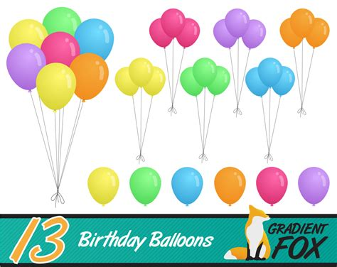 clipart palloncini carnival balloons clipart 31
