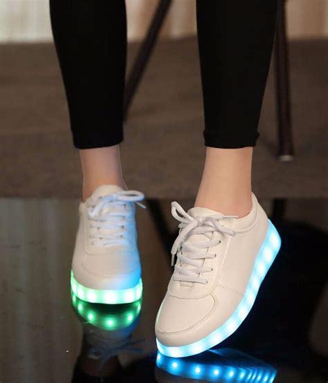 new fashion casual boy girls luminous sneakers light up