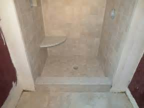complete tile shower install