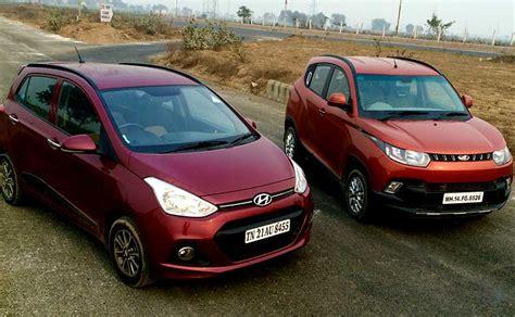 Comparison: Mahindra KUV100 vs Hyundai Grand i10   NDTV