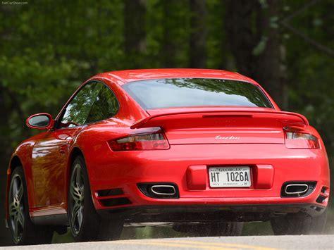 turbo porsche red 2007 red porsche 911 turbo wallpapers