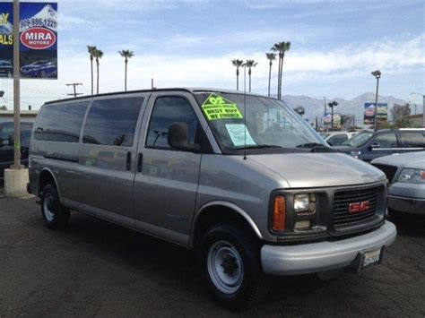 car owners manuals for sale 2002 gmc savana 1500 user handbook 2002 gmc savana for sale carsforsale com