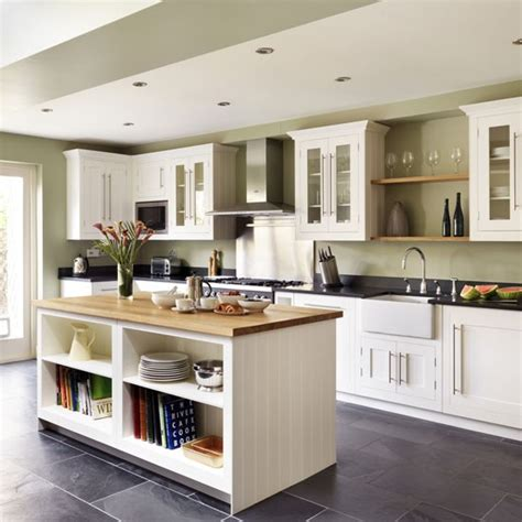 Shaker Style Kitchen Island with Kitchen Island Ideas Housetohome Co Uk