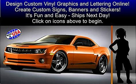 vinyl lettering graphics decals banners and signs custom online signs custom